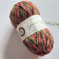 West Yorkshire Spinners Signature 4ply (sock yarn) - 886 Holly Berry