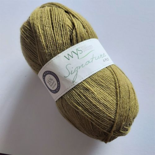 West Yorkshire Spinners Signature 4ply (sock yarn) - 351 Cardamom