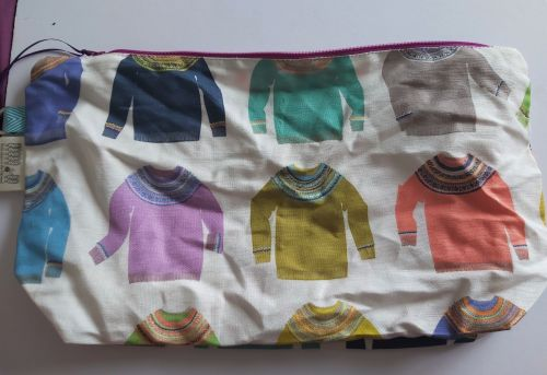 Project Bag - Colourful Sweaters