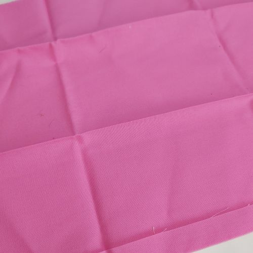 Solid pink cotton fabric