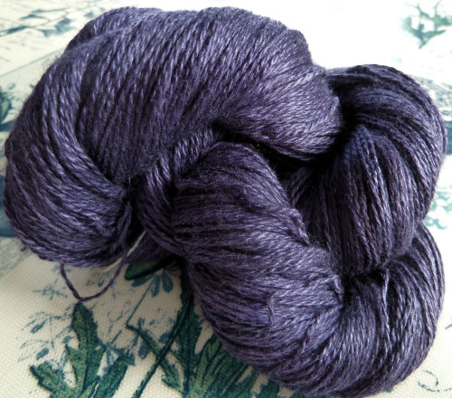 Silky Cashmere Fingering - Laceweight - 10 Orchid