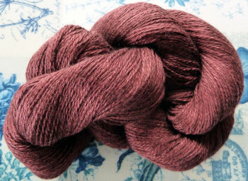 Silky Cashmere Fingering - Laceweight - 05 Cabernet