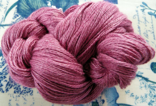 Silky Cashmere Fingering - Laceweight - 11 Peony