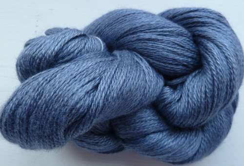 Silky Cashmere Fingering - Lace Weight - 09 Midnight