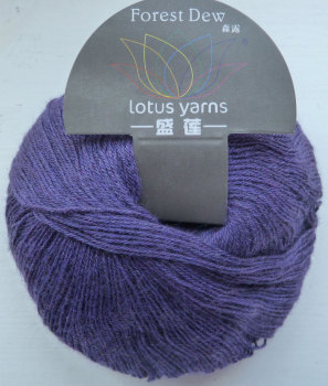 Forest Dew - lace weight - 12 Eggplant