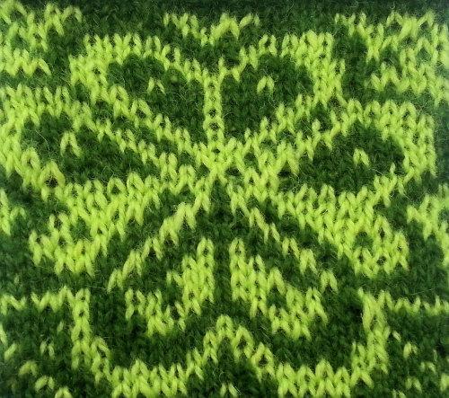 'Vaffel Votter' Kit - Green/Lime