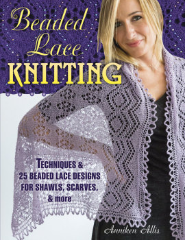 Beaded Lace Knitting by Anniken Allis - Signed Copy