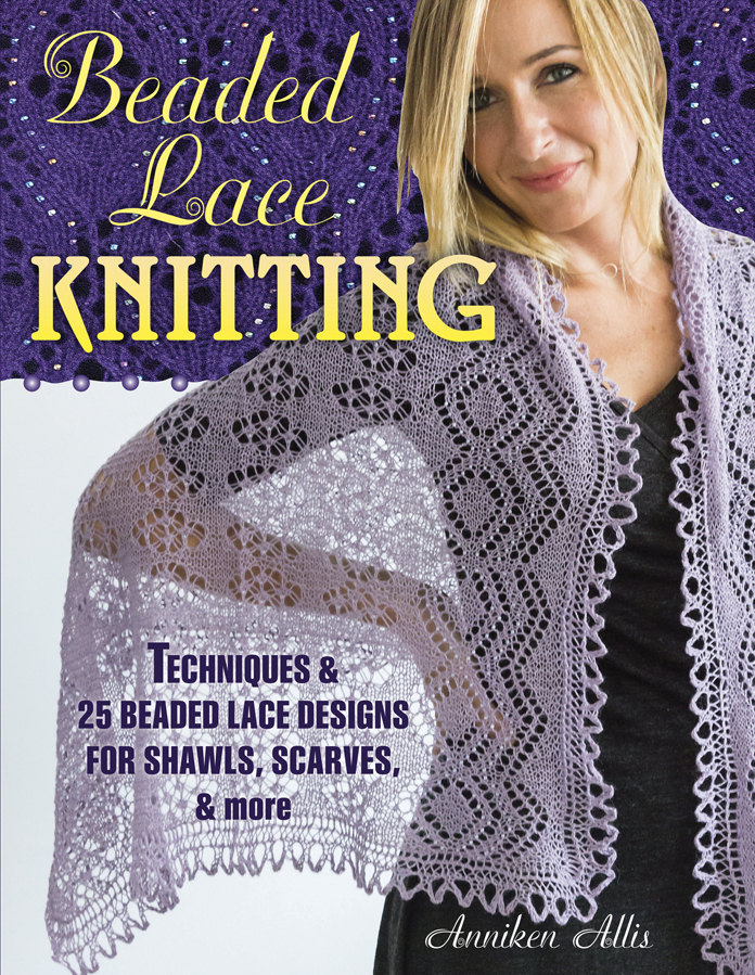 Beaded Lace Knitting by Anniken Allis - Signed Copy - Pre-order Now