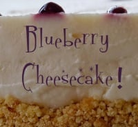 Blueberry Cheesecake - Price from