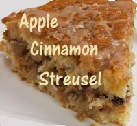 Apple Cinnamon Streusel  - Price from