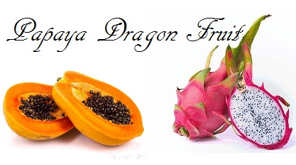 Papaya Dragon Fruit  - Price from