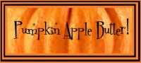 Pumpkin Apple Butter - Price from