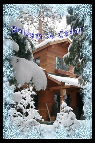 Balsam & Cedar -