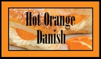 Hot Orange Danish  - Price from