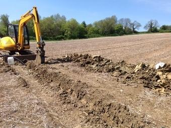 field draining