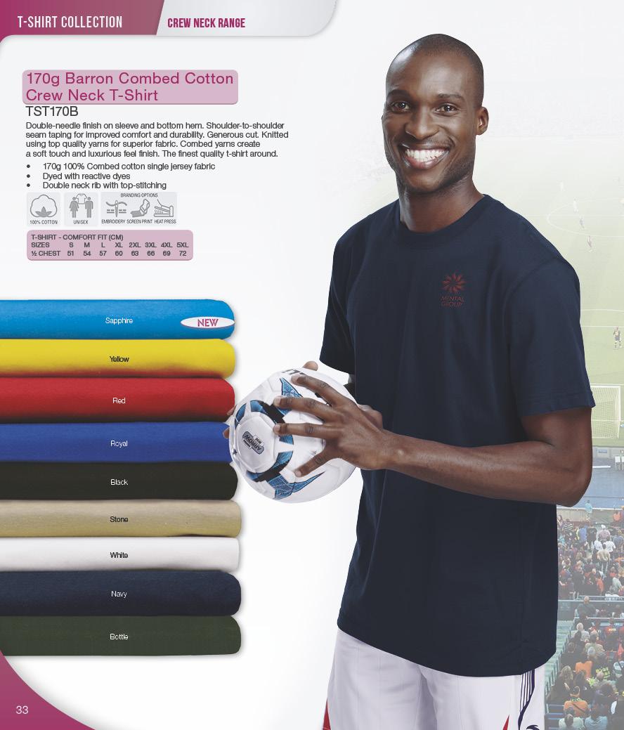 tst170b barrron combed cotton