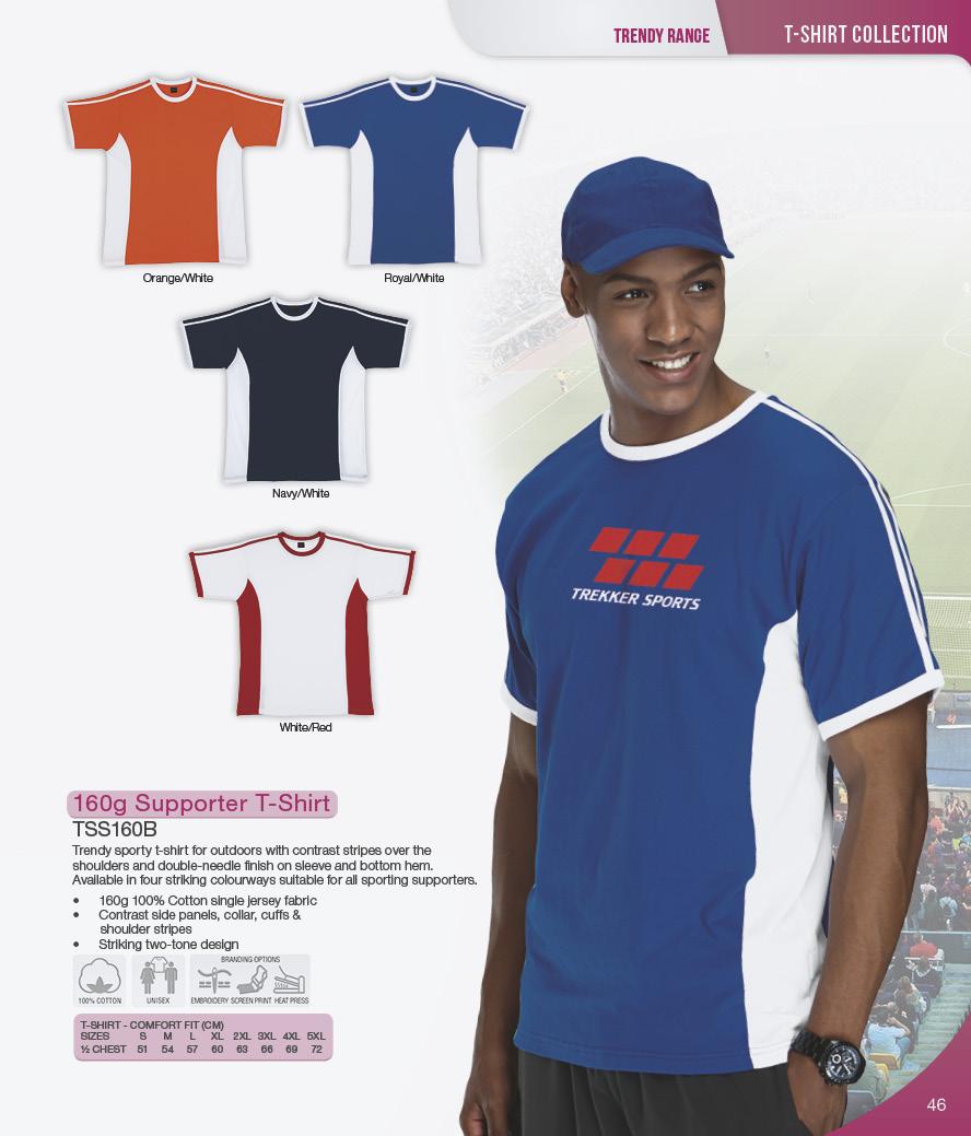 tss160b supporter t shirts