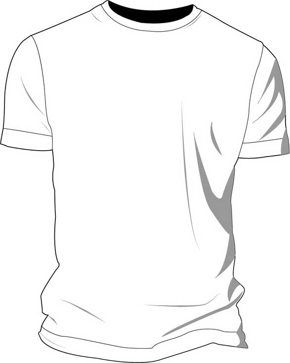 t shirt outline