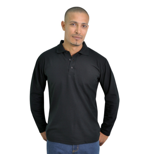 PKD3 Tee & Cotton Long Sleeve PK Golf Shirt - 175g