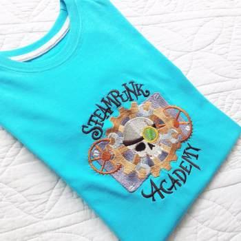 Steampunk Academy Spider children's T shirt