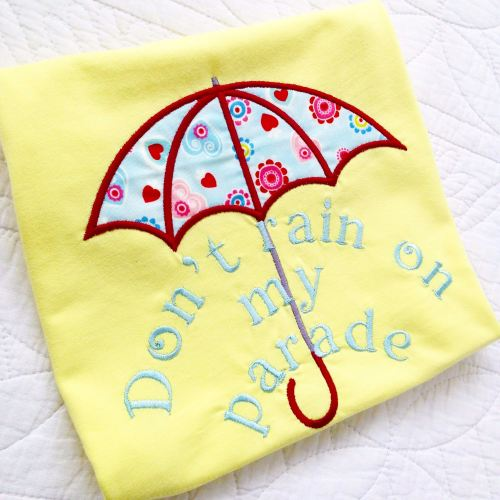 Don't rain on my parade children's T shirt