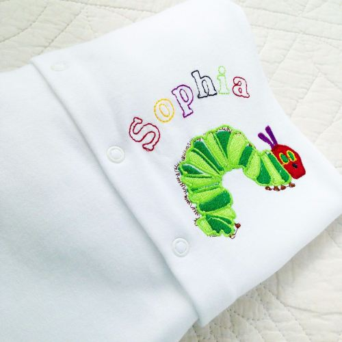 The very hungry caterpillar babygrow sleepsuit 2