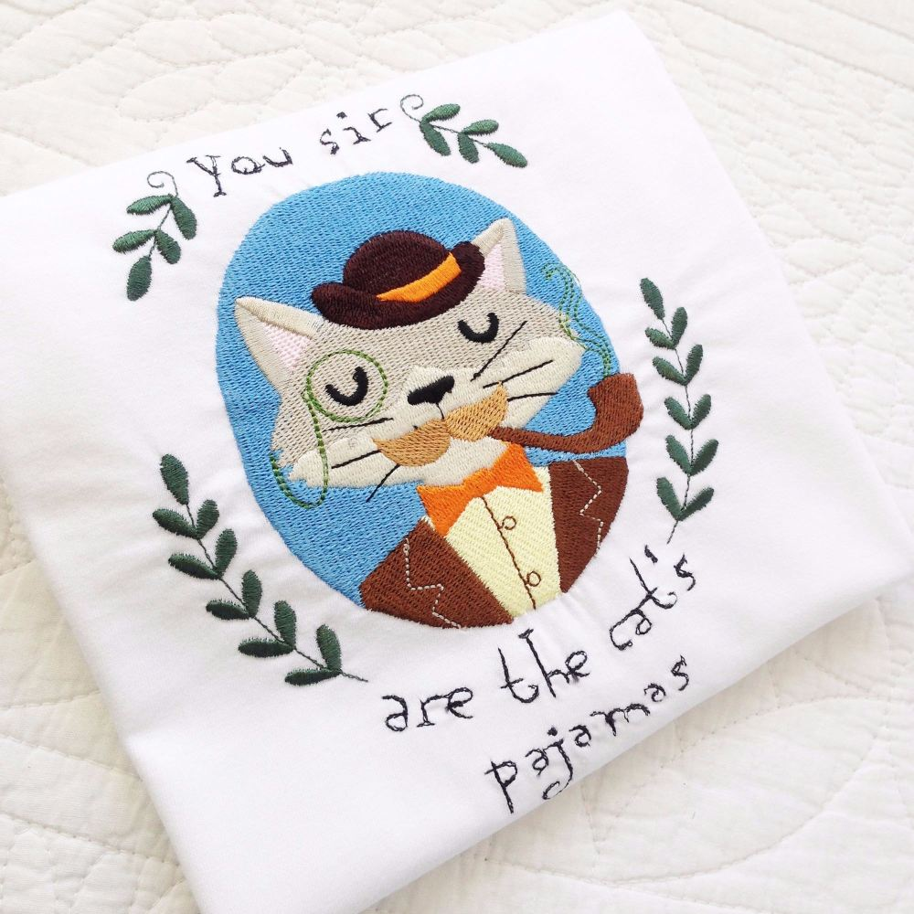 Teachers gift Cats Pajamas ADULT T shirt