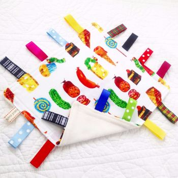 "Taggy Blankets  ""The very hungry caterpillar Encore"""