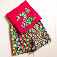 Personalised The Very Hungry Caterpillar T-shirt & Shorts Set