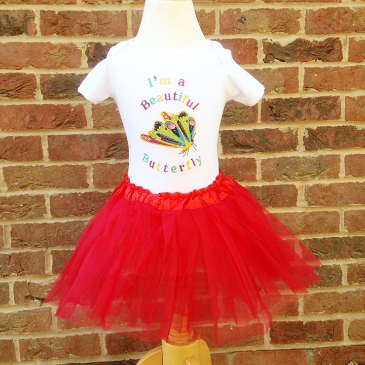 The very hungry caterpillar baby tutu and vest set