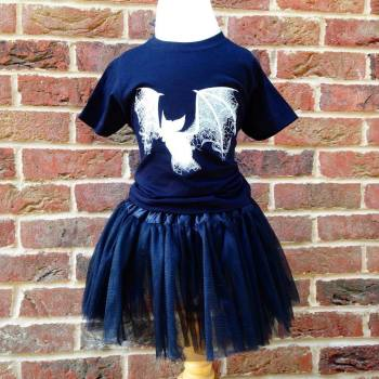 Halloween baby tutu and onesie vest set