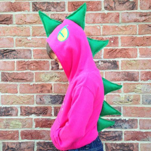 personalised dinosaur hoodie