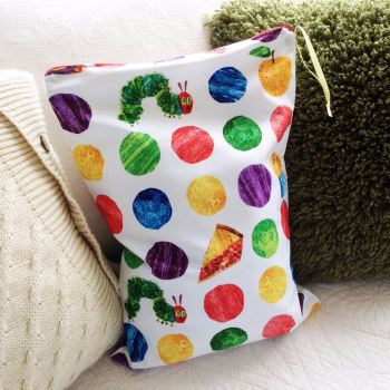 The Very Hungry Caterpillar large wet bag