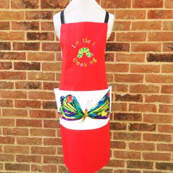 Personalised adults The very hungry caterpillar apron