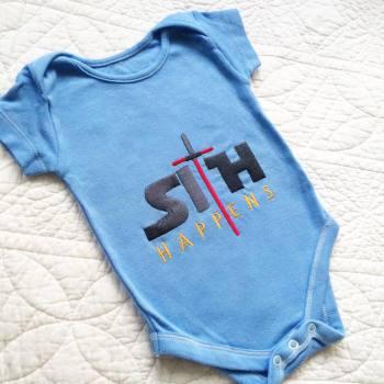 Star wars Sith Happens baby onesie vest