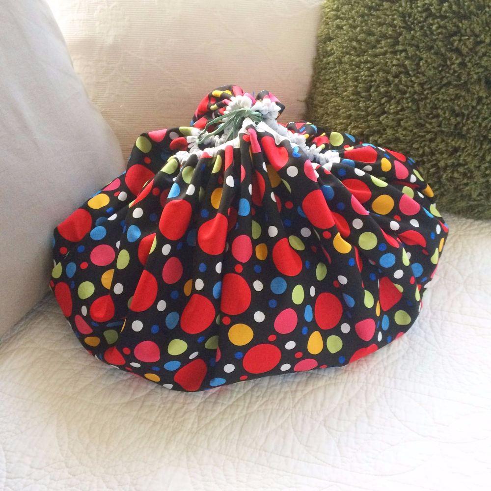 lego playmat storage drawstring Bag