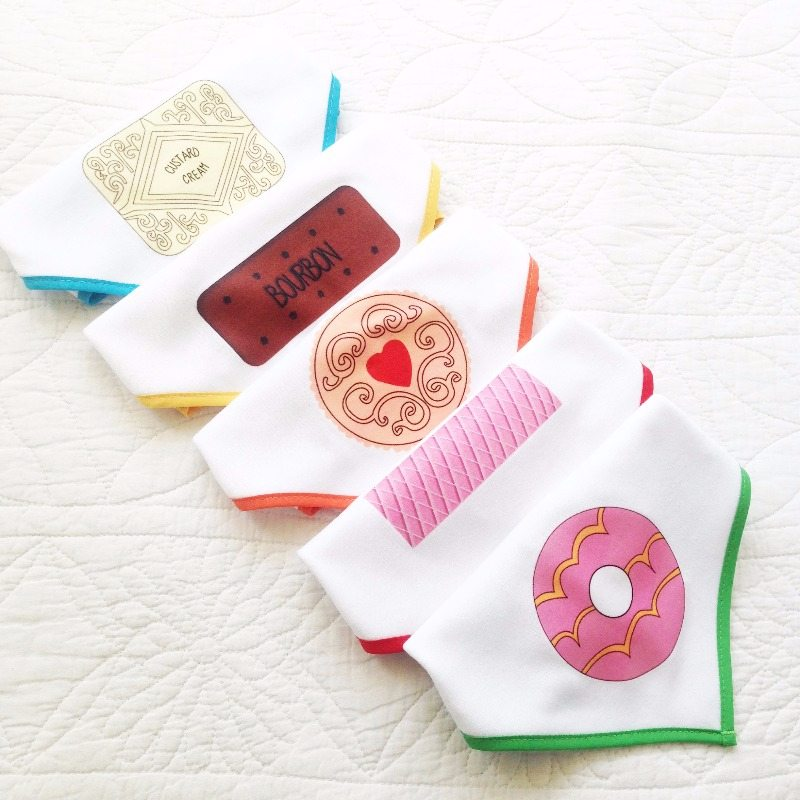 biscuit baby bandana dribble bibs