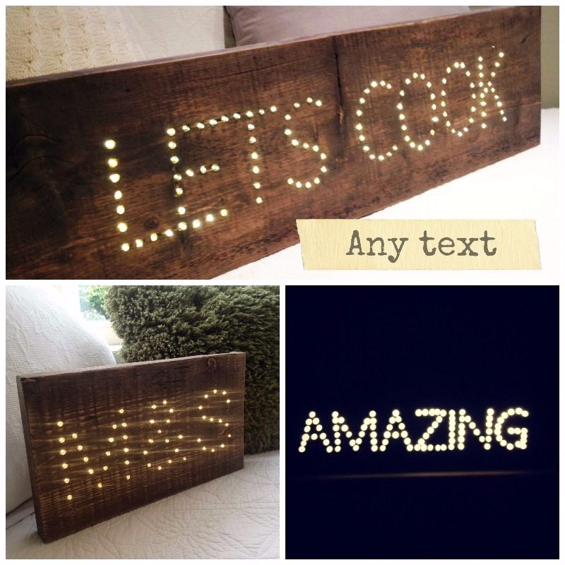 light box collage