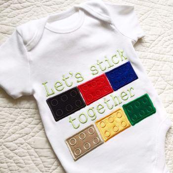 Lego baby onesie vest