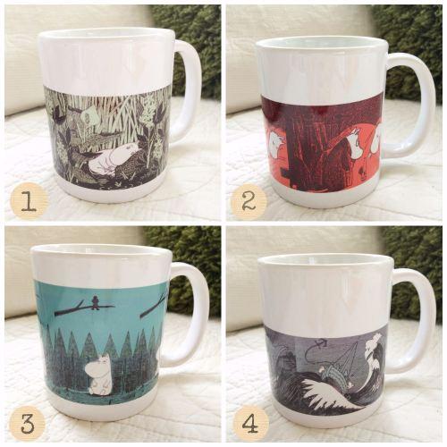 moomin mug collage