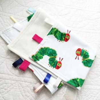 The very hungry caterpillar taggy taggie blanket Large