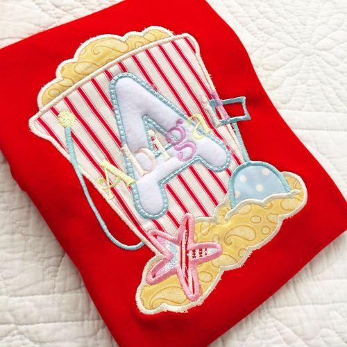 Beach baby summer sandcastle T shirt