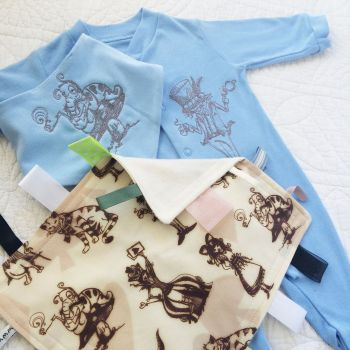 Alice in wonderland new baby gift set