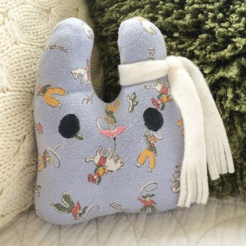 Keepsake bunny from your baby blanket