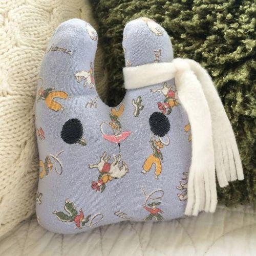 Keepsake bunny from your baby blanket