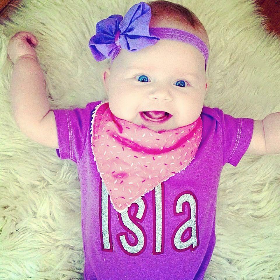 Personalised glitter name baby onesie vest