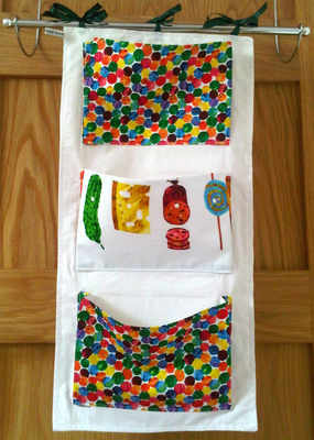 The very hungry caterpillar cot tidy