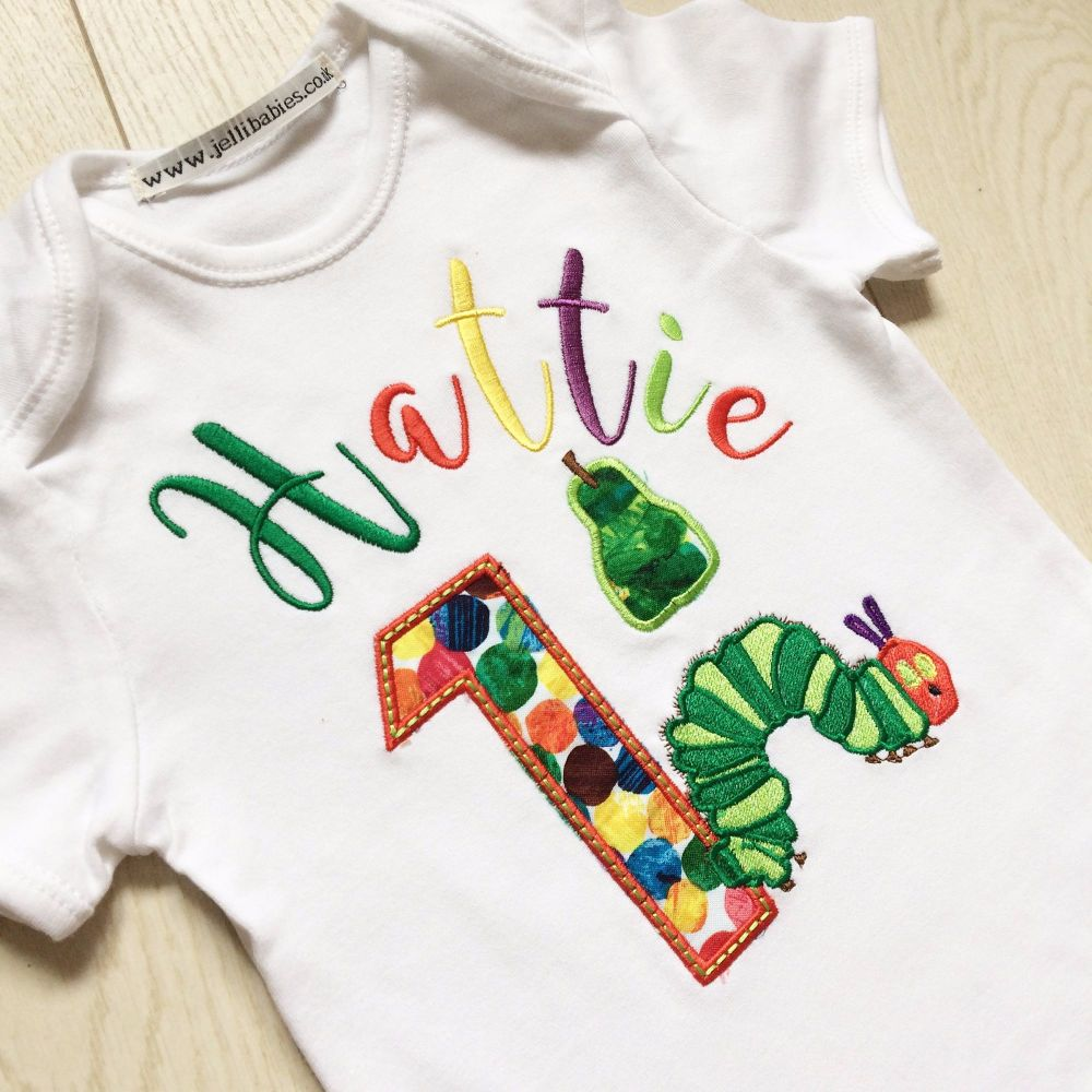 THE VERY HUNGRY CATERPILLAR Sleepsuit NWT