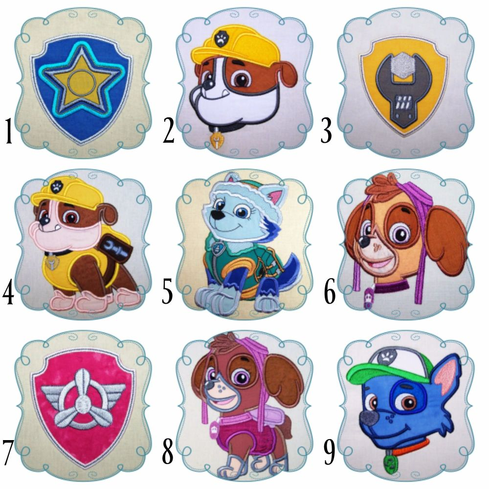 Paw patrol collage 1