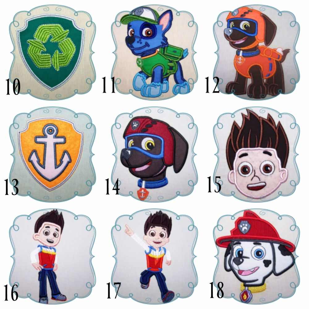 Paw patrol collage 2
